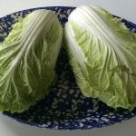 Quick Brown Bag Lunch: Braised Napa Cabbage with Sardines and Avocado