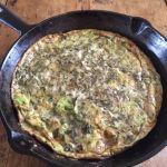"""""""Green"""" Eggs and (No) Ham: Broccoli and Shishito Pepper Frittata"""