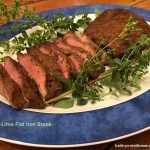 Jalapeno-Lime Flat Iron Steak