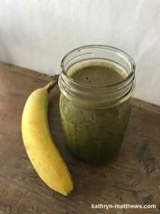 Kale-Banana Marathon Smoothie