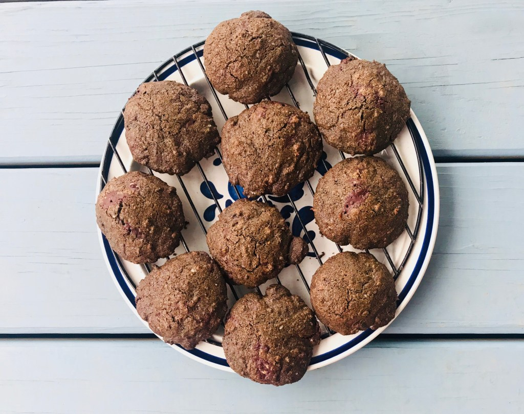 Buckwheat Ginger Chocolate Chip Cookies 2