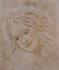 La Scapigliata by Stephanie T.