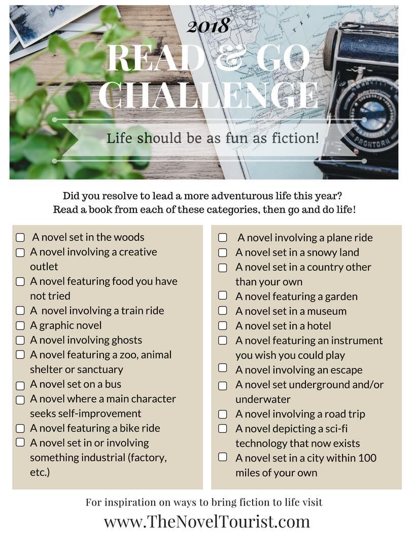 2018 Read & Go Challenge