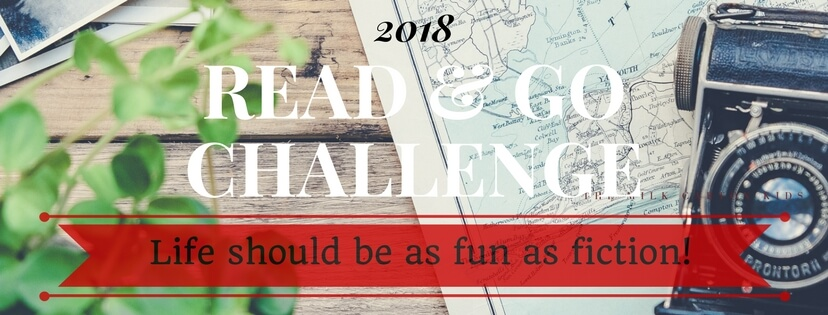 2018 Read & Go Challenge with Banner that says Life should be as fun as fiction