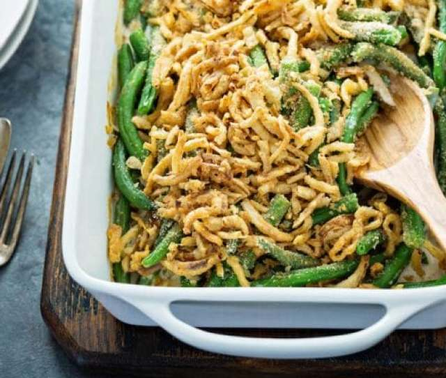 Green Bean Casserole Recipe This Easy Thanksgiving Side Dish Is Made From Scratch With Fresh
