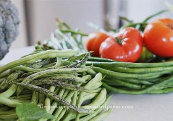 green beans and yard long beans