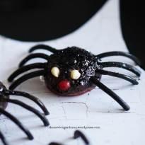 halloween spider cakepop