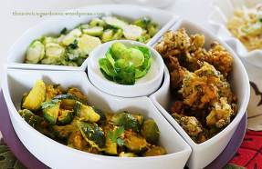 brussels sprouts three different ways