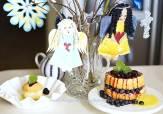 angels and angel food cake