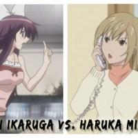 [Anime Investigative Reports] Ibuki Ikaruga vs. Haruka Minami
