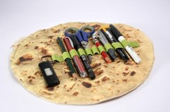 flatbread pencil case best foodie gift