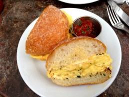 sage egg panini