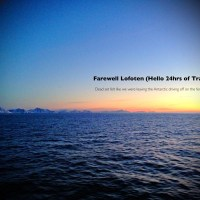 Farewell Lofoten (Hello 24hrs of Transit)