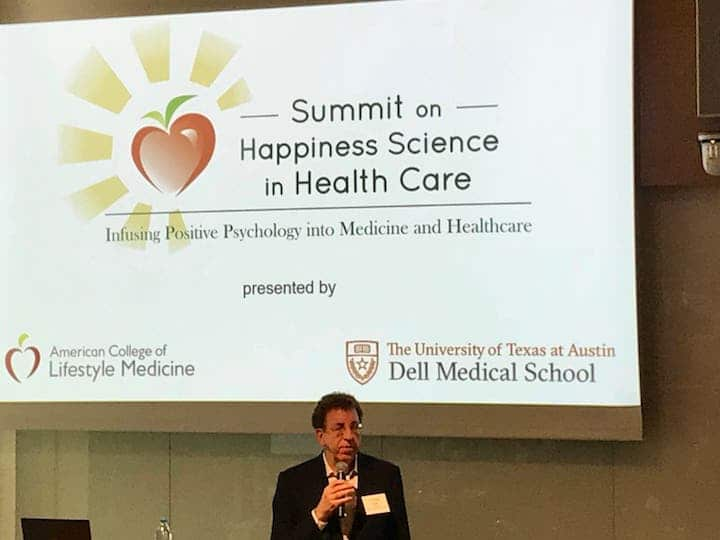 Dean Ornish at the Summit on Happiness Science