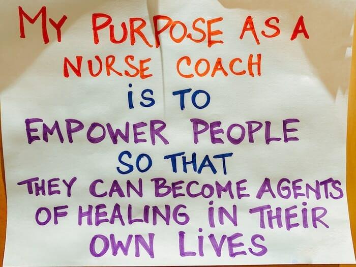 My Purpose As A Nurse Coach