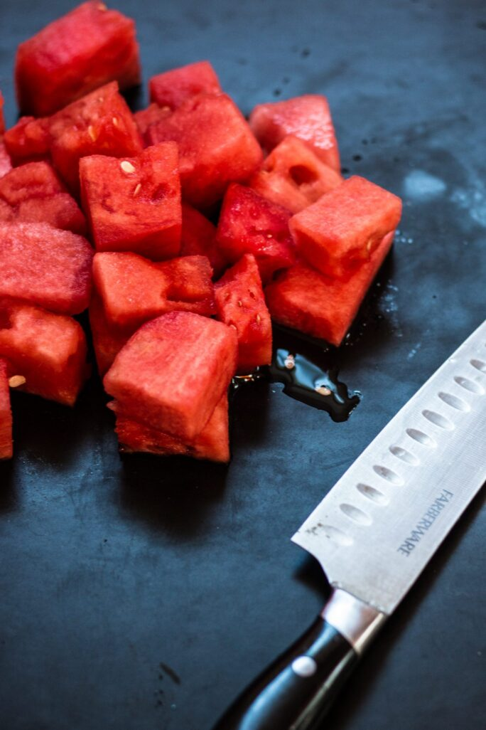 Agave Watermelon Popsicles