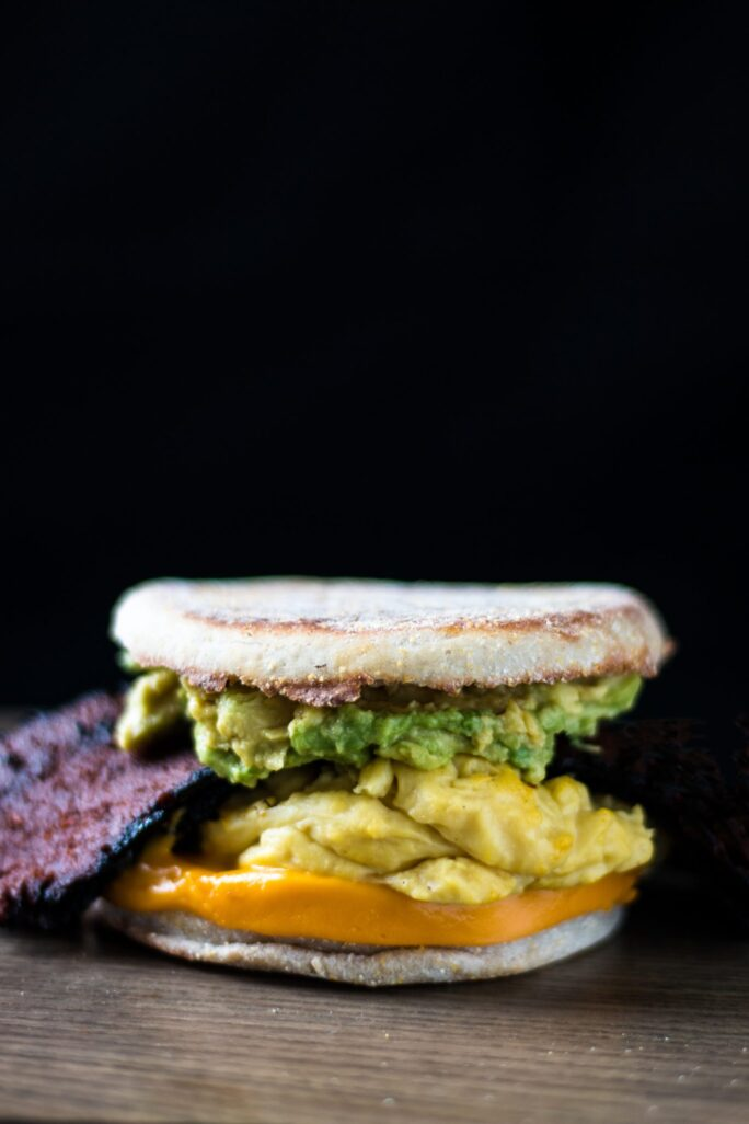 Bodega Breakfast Sandwich with Avocado