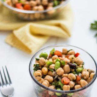 Easy Chickpea Salad