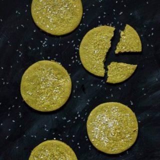 Vegan Matcha Sugar Cookies | www.thenutfreevegan.net