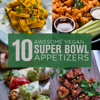 10 Awesome Vegan Super Bowl Appetizers and Snacks | www.thenutfreevegan.net