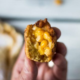 delicious and easy corn nugget appetizer | www.thenutfreevegan.net