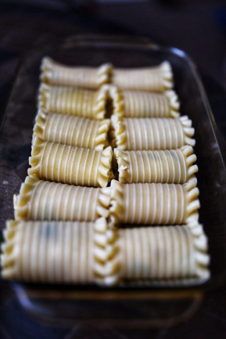 Easy and delicious vegan lasagna roll-ups nutfreevegan