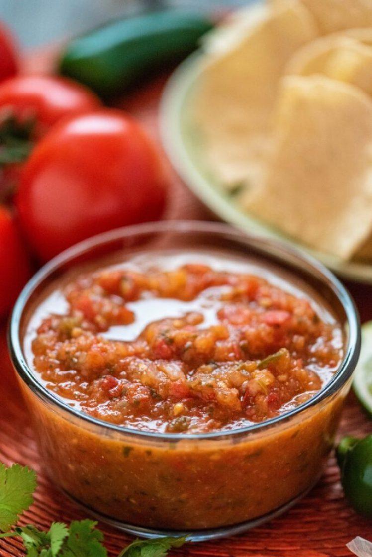 Authentic Mexican Salsa Vegan Gluten-Free Nutfreevegan