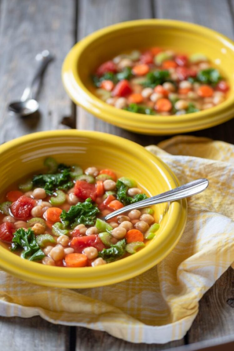 Easy and delicious instant pot minestrone vegan nutfreevegan