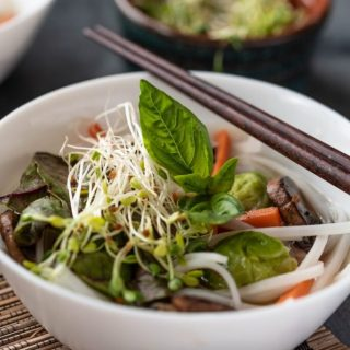 Fall Vegetable Pho nutfreevegan