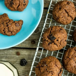 Black Forest Cookies Nutfreevegan