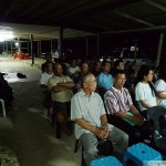 Villagers attending a community meeting on 22 Aug 2010 to discuss the 13-year legal battle with IOI Pelita Plantation.