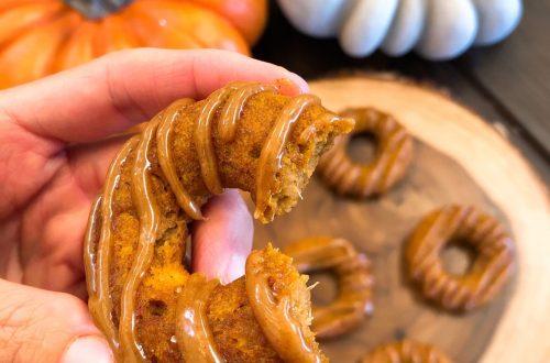 paleo pumpkin donuts