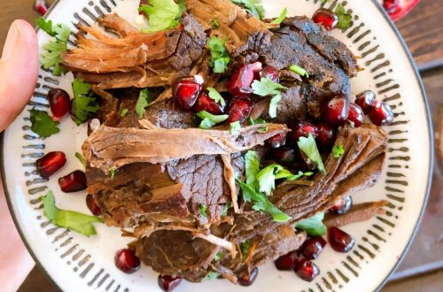 pomegranate balsamic roast