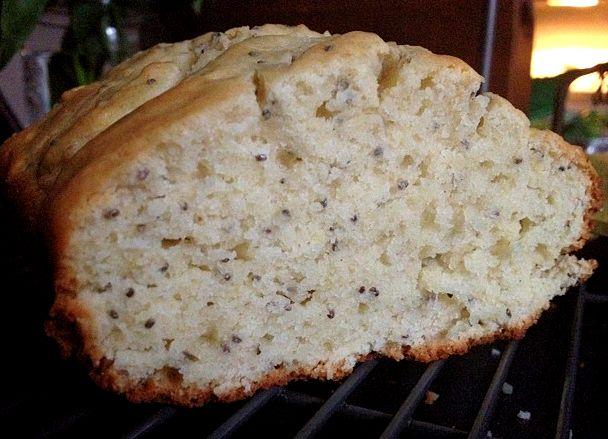 Lemon Thyme Chia Bread