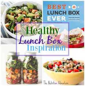 Healthy Lunch Box Inspiration + Cookbook Giveaway
