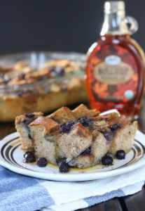 Wild Blueberry French Toast Bake
