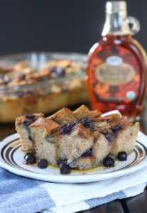 Wild Blueberry French Toast Bake