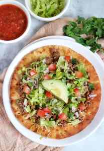 Taco Pita Pizza | The Nutrition Adventure