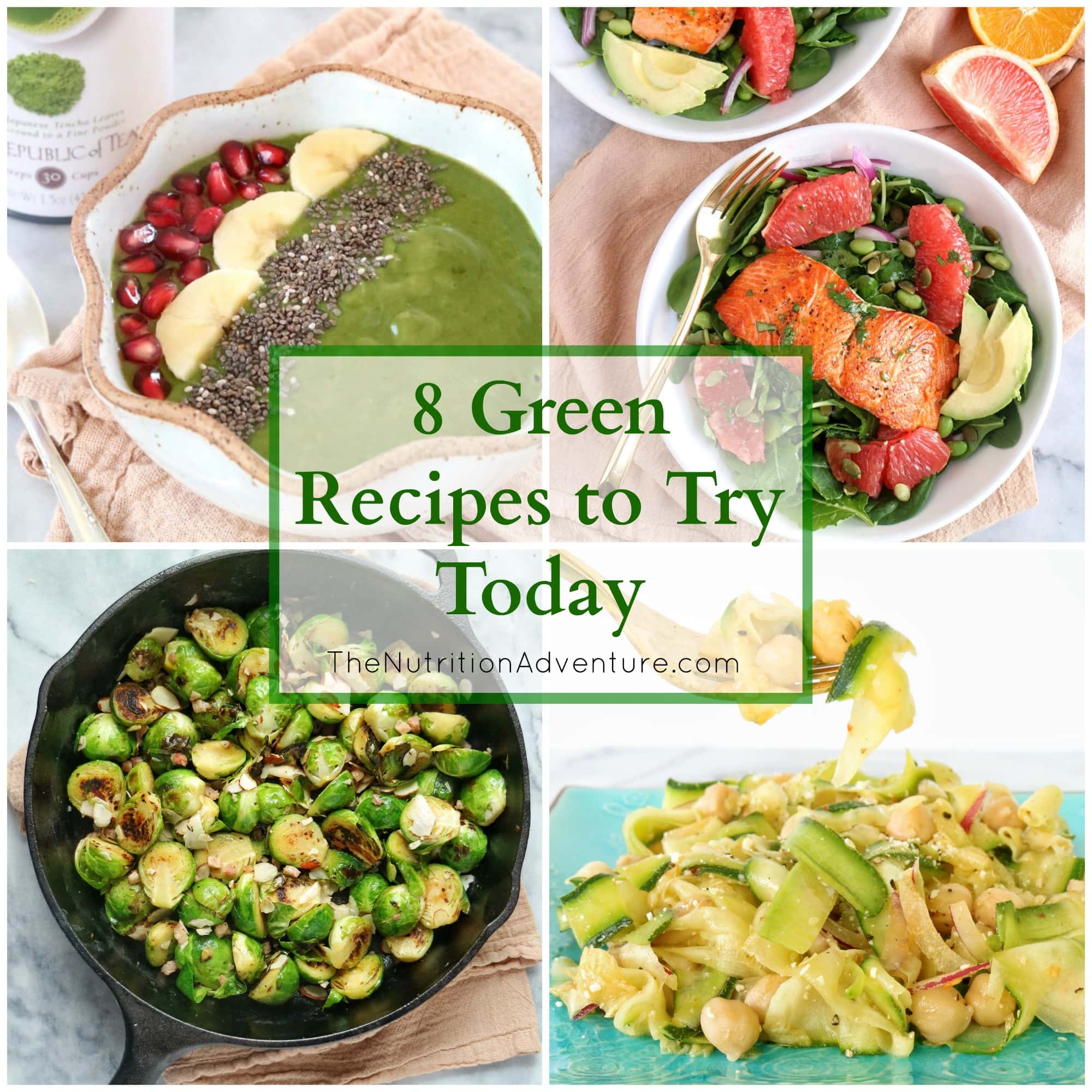 Eating Green + 8 Green Recipes to Try Today