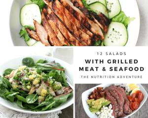 Salads with Grilled Meat & Seafood