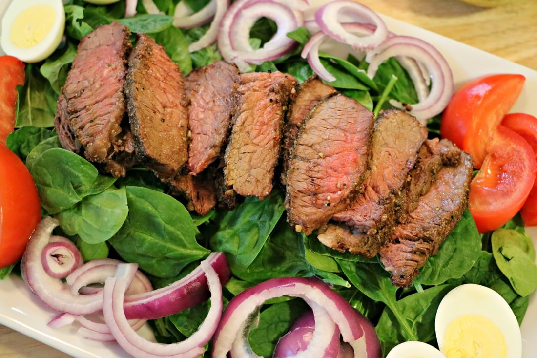 Salads with Grilled Meat/Seafood   The Nutrition Adventure