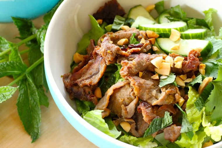 Salads with Grilled Meat & Seafood » The Nutrition Adventure