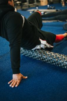 muscle soreness from lactic acid