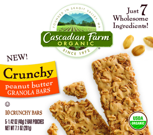 Cascadian Farm Granola Bar 300