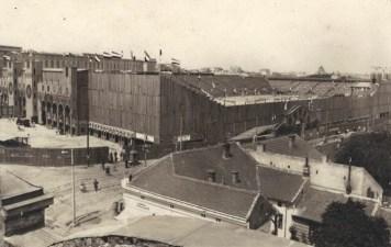 Wooden Stadium for the Slet in Belgrade