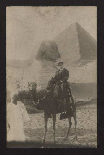 Ernest Brummer in Egypt