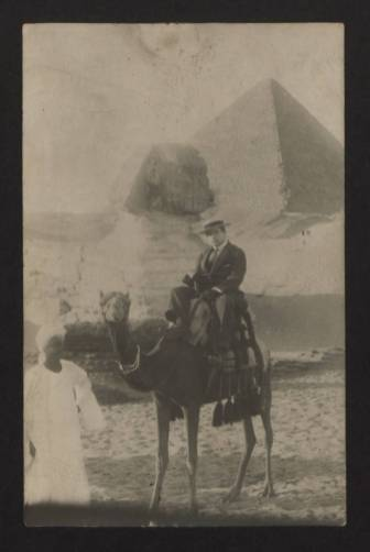 Ernest Brummer in Egypt