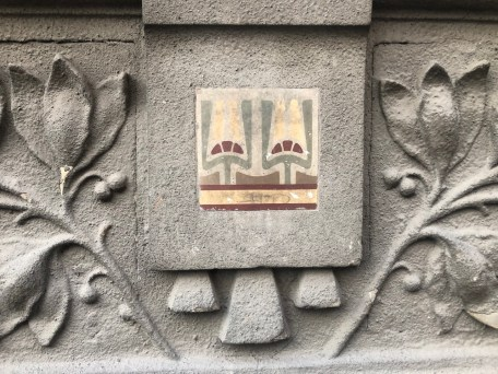 Detail from a house in Carigradska, Begrade