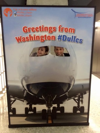 Greetings from #Dulles from Ivey & Me.