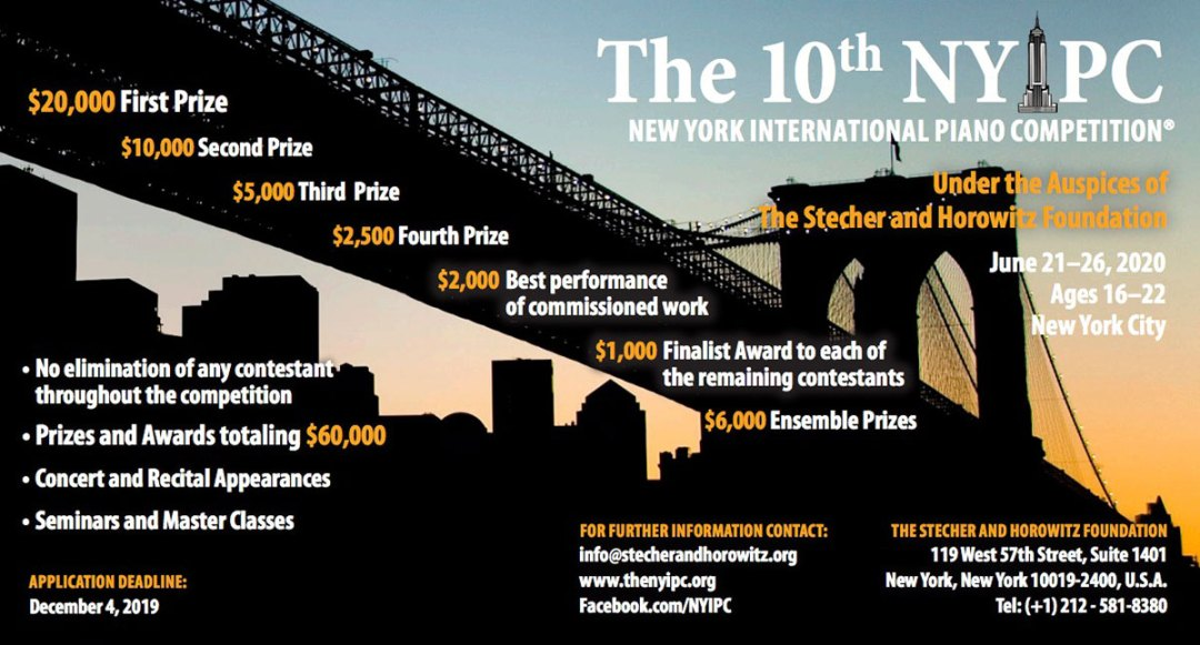 Competition | The New York International Piano Competition
